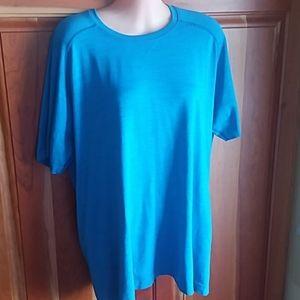 Lululemon Athletica blue t- shirt